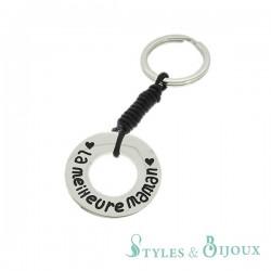 Porte-clés acier