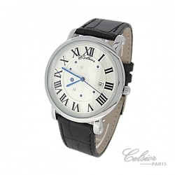 Montre cuir Homme design Celsior Paris