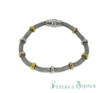 Bracelets acier