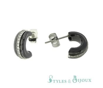 Boucles d'oreilles céramique